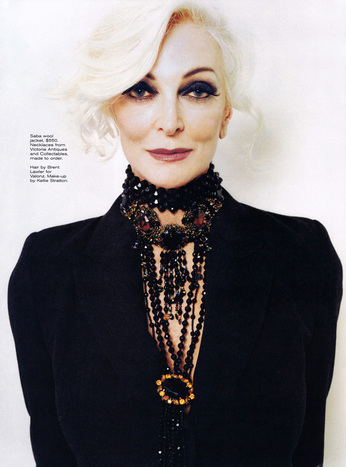Carmen Dell Orefice,photoshoot